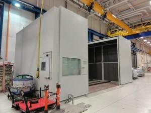 Acoustic Enclosures For Horizontal Balancing Machines