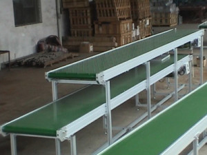 2 level Flat Belt Conveyors