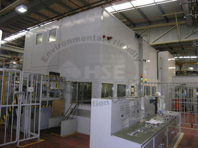 Forging Machine Acoustic Enclosures