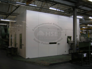 Grinding Machine Acoustic Enclosures