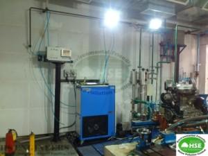 Compressor Noise Test Room Soundproofing