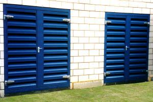 Louvred Ventilation Acoustic Doors