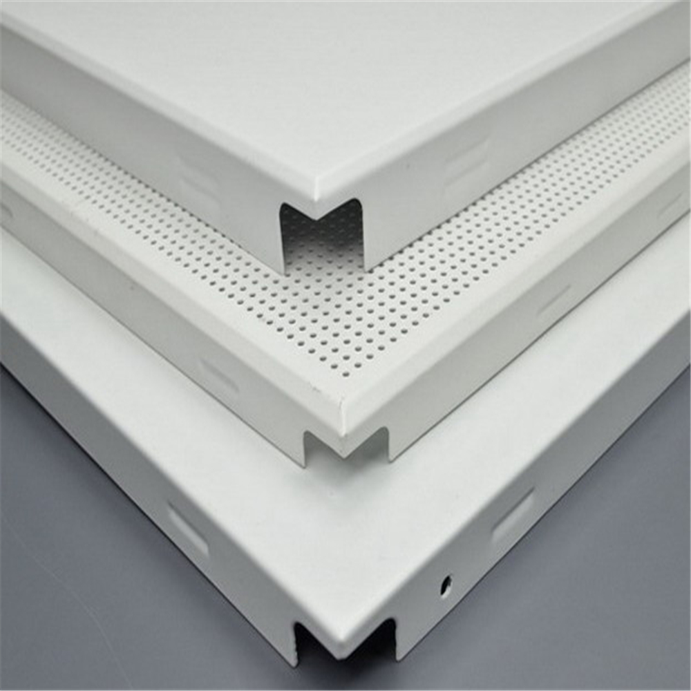 Clipin Metal Ceiling Tiles Perforated Metal Tiles Ceiling Acoustic