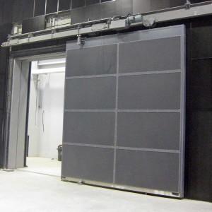 Acoustic sliding door