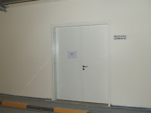 Metal Steel Doors Fire Acoustics