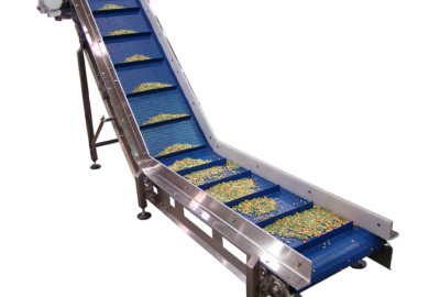 Inclined Cleated Belt Conveyors