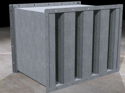 Square Duct Silencer 250x250 H S Engineers