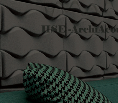 3D Polyester Wall Acoustic Panels