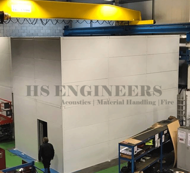 Machine Soundproof Enclosure for Machines in India