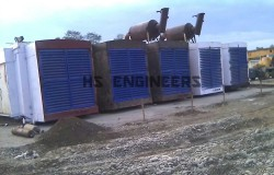 Acoustic Louvres for Oil Rig Gensets