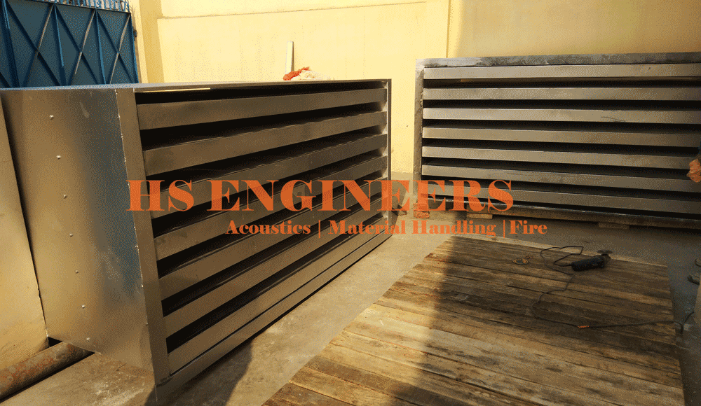 Generator exhaust air Acoustic Attenuators