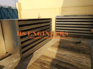 Generator exhaust air Acoustic Attenuators