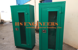 Acoustic cabinet for server
