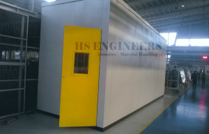 Auto vehicle Exhaust muffler Acoustic test chamber