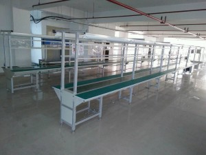 Mobile charger Assembly Conveyor