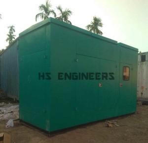 Acoustic Enclosure supplied to Delhi Hotel
