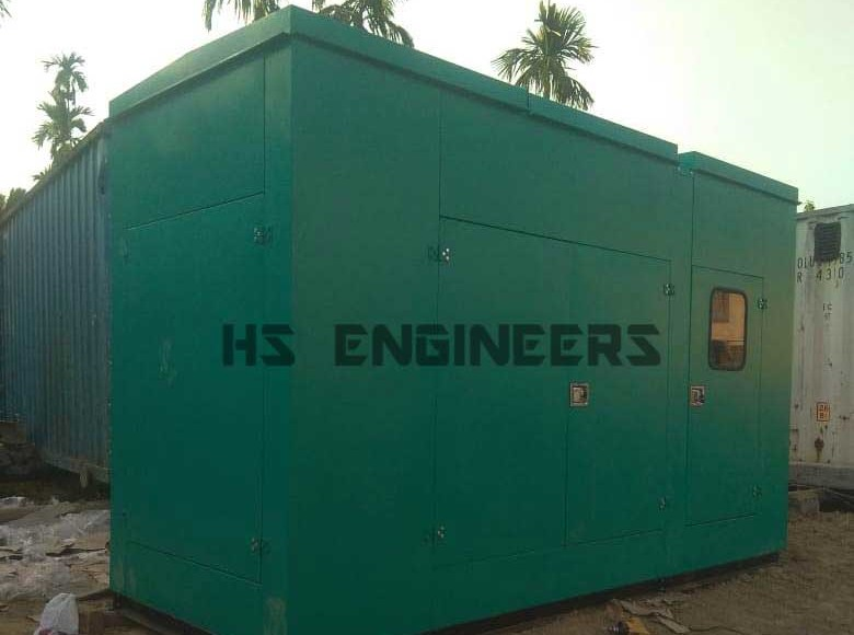 Acoustic Enclosure supplied to Delhi Hotel