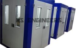 Grinding Machine Acoustic Enclosure