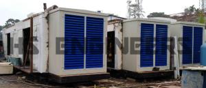 Oil Rig generator Acoustic Enclosures