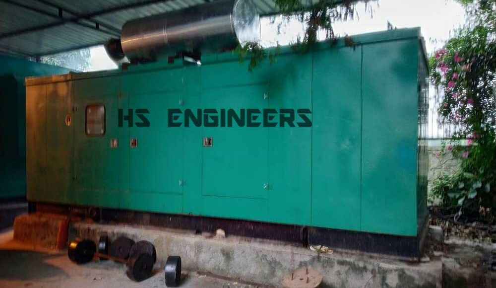 Cummins generator soundproof canopy supplied in delhi
